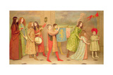 A Pageant of Childhood, 1899 Giclee Print by Thomas Cooper Gotch