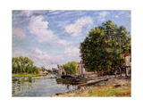 Moret-Sur-Loing, 1885 Giclee Print by Alfred Sisley