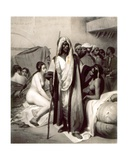 Marchand D'Esclaves, Engraved by Eugene Jazet, 1830s Giclée-Druck von Antoine Charles Horace Vernet