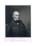 John Quincy Adams, Engraved by John Wesley Paradise (1809-62) Giclee Print by Asher Brown Durand