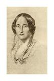 Elizabeth Cleghorn Gaskell (1810-65) Giclee Print by George Richmond