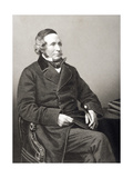 Sir Henry Singer Keating (1804-88) Engraved by D.J. Pound from a Photograph, from 'The… Giclee Print by John Jabez Edwin Paisley Mayall