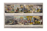 Democracy, or a Sketch of the Life of Buonaparte, Published by Hannah Humphrey in 1800 Giclee Print by James Gillray