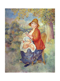 Maternity, 1885 Giclee Print by Pierre-Auguste Renoir