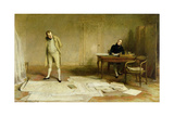 St. Helena 1816: Napoleon Dictating to Count Las Cases the Account of His Campaigns Giclee Print by Sir William Quiller Orchardson