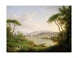 Figure Seated on the Banks of the Arno Giclee Print by William Marlow