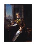 Portrait of Victor Rifaut (1798-1838) 1822 Giclee Print by Joseph Desire Court
