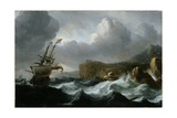 Stormy Sea Giclee Print by Ludolf Backhuysen