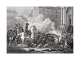 Defeat of the Parisian Sections, May 1795, from 'Histoire De La Revolution Francaise' by Louis… Giclee Print by Henri Renaud
