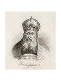 Rudolf I of Germany Giclee Print by J.W. Cook