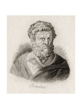 Pindar of Thebes Giclee Print by J.W. Cook