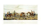 The Death, the Leicestershires, Engraved by Henry Alken (1785-1851) 1825 Giclee Print by John Dean Paul