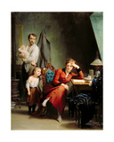 The Poetess Giclee Print by Fritz Zuber-Buhler