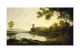 Llyn Peris and Dolbadarn Castle, North Wales Giclee Print by Richard Wilson