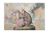 Enchantments Lately Seen Upon the Mountain of Wales Giclee Print by James Gillray