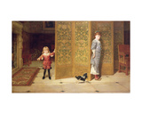Puritan and Cavalier, 1886 Giclee Print by Frederick Goodall