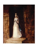 The White Princess Giclee Print by Odilon Redon