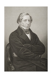 William Henry Wilson (1797-1871) 11th Lord Berners, Engraved by D.J. Pound from a Photograph,… Giclee Print by John Jabez Edwin Paisley Mayall