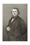 Hugh Stowell Brown (1823-86) Engraved by D.J. Pound from a Photograph, from 'The Drawing-Room of… Giclee Print by John Jabez Edwin Paisley Mayall