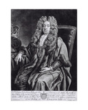 Sir John Houblon (1632-1711) Engraved by R. Williams Giclee Print by Johann Closterman