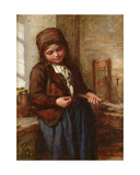 A Boulogne Fish Girl, 1866 Giclee Print by Frank Holl
