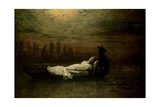 The Lady of Shalott, 1878 Giclee Print by John Atkinson Grimshaw