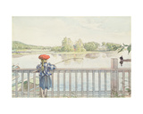 Lisbeth Angling, from 'A Home' Series, C.1895 Giclee Print by Carl Larsson