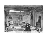 Interior of the Egyptian Temple at the Universal Exhibition at the Champ-De-Mars in Paris, 1867 Giclee Print by Dieudonne Auguste Lancelot