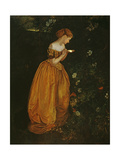 The Glow Worm Giclee Print by Annie Louisa Swynnerton