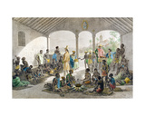 Marche Aux Negres, Engraved by Deroi, 1827-35 Giclee Print by Johann Moritz Rugendas