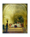 Banquet in the Thames Tunnel, C.1827 Giclee Print by George Jones