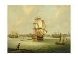 A View of Charleston, South Carolina Giclee Print by Thomas Mellish