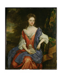 Portrait of Mary, Lady Barrington Bourchier Giclee Print by William Wissing