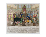 Consequences of a Successful French Invasion, or We Come to Recover Your Long Lost Liberties, 1798 Giclee Print by James Gillray