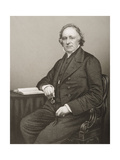 Thomas Binney (1798-1874) Engraved by D.J. Pound from a Photograph, from 'The Drawing-Room of… Giclee Print by John Jabez Edwin Paisley Mayall