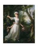 Portrait of Henrietta Laura Pulteney (1766-1808) Giclee Print by Angelica Kauffmann