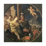 The Farewell of Dido and Aeneas Giclee Print by Sebastien Bourdon