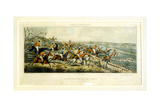 A Struggle for a Start, the Leicestershires, Engraved by Henry Alken (1785-1851) 1825 Giclee Print by John Dean Paul