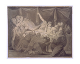 The Death of Cardinal Beaufort, 1772 Giclee Print by Henry Fuseli