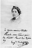 Eugenie Mouchon Niboyet (1799-1882) 8th June 1869 Photographic Print by J. E. Tourtin