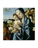 Virgin and Child with Saint Giclee Print by Andrea Mantegna