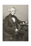 James William Gilbart (1794-1863) Engraved by D.J. Pound from a Photograph, from 'The… Giclee Print by John Jabez Edwin Paisley Mayall
