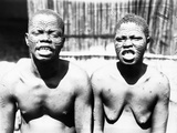 Natives of Mangala, Northern Congo, 1899-1901 Photographic Print by Harry Hamilton Johnston