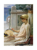 On the Terrace, 1889 Giclee Print by Edward John Poynter