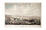 High Level Bridge, Newcastle Upon Tyne, Engraved by George Hawkins (1819-52) Giclee Print by John Wilson Carmichael