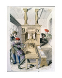 Parisian Printers in the Fifteenth Century Giclee Print by  Gerlier