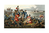 Waterloo, the Day After, Engraved by Matthew Dubourg (Fl.1813-20), Published by Edward Ormes… Giclee Print by John Heaviside Clark