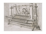 Ms Murray 636 Image of a Man at a Loom, from 'A Statistical Account of the Barony Parish of… Giclee Print