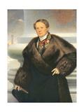 Auguste Ricard De Montferrand (1786-1856) 1842 Giclee Print by Joseph Desire Court