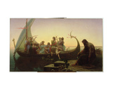 The Evening, 1865-67 Giclee Print by Charles Gleyre
